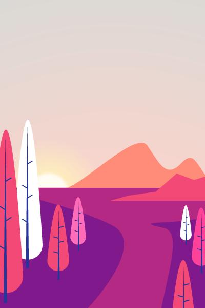 Landscape Vector Pack - Scene 1