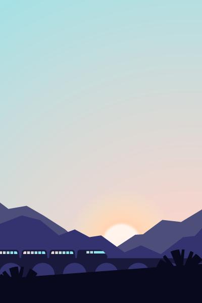 Landscape Vector Pack - Scene 5