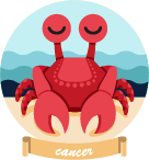 Rounded Zodiac Signs Illustrations - Scene 4