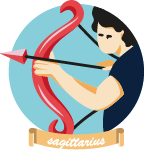 Rounded Zodiac Signs Illustrations - Scene 16